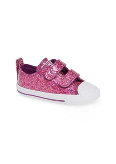 Converse All Star(R) Seasonal Glitter Sneaker (Baby, Walker & Toddler)