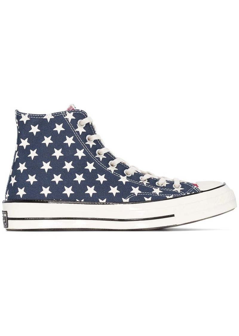 Converse American flag high top sneakers