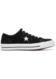 Converse Black & White Suede One Star OX Sneakers