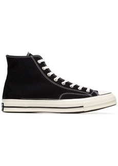 Converse black and white 70's chuck taylor sneakers
