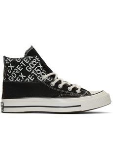 Converse Black Gore-Tex Chuck 70 Hi Sneakers