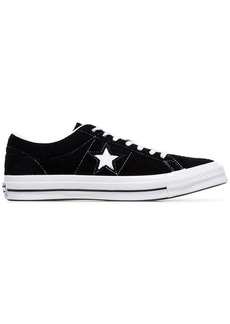 Converse black One Star Ox suede sneakers