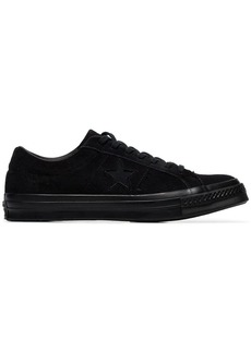 Converse black One Star suede sneakers