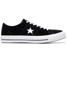 Converse black All Star Chuck Taylor suede sneakers