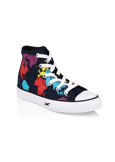 Converse Boy's Chuck Taylor All Star Axel Geography Class High-Top Sneakers