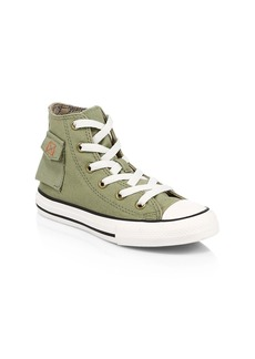 Converse Boy's Outta Pocket Hi-Top Chuck Taylor Sneakers