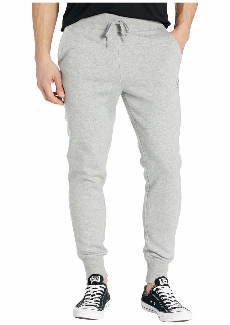 Converse Brushed Back Fleece Jogger Pants