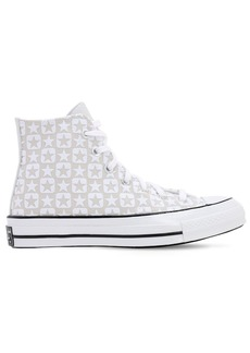 Converse Chuck 70 Flocked Canvas - Hi Sneakers