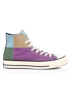 Converse Chuck 70 High Top Ripstop Grid Sneakers