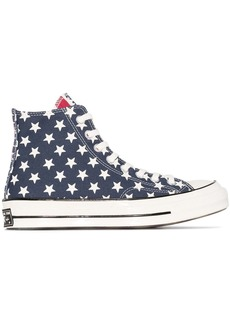Converse Chuck Taylor 70mm remix flag-print high top sneakers