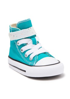 Converse Chuck Taylor All Star 1V Hi Top Turbo Sneaker (Baby & Toddler)
