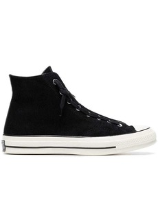 Converse Chuck Taylor All Star 70 suede zip sneakers