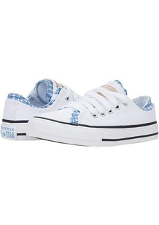 Converse Chuck Taylor® All Star® Double Upper Gingham Ox (Little Kid/Big Kid)