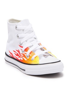 Converse Chuck Taylor All Star Flaming Hi Top Sneaker (Toddler & Little Kid)