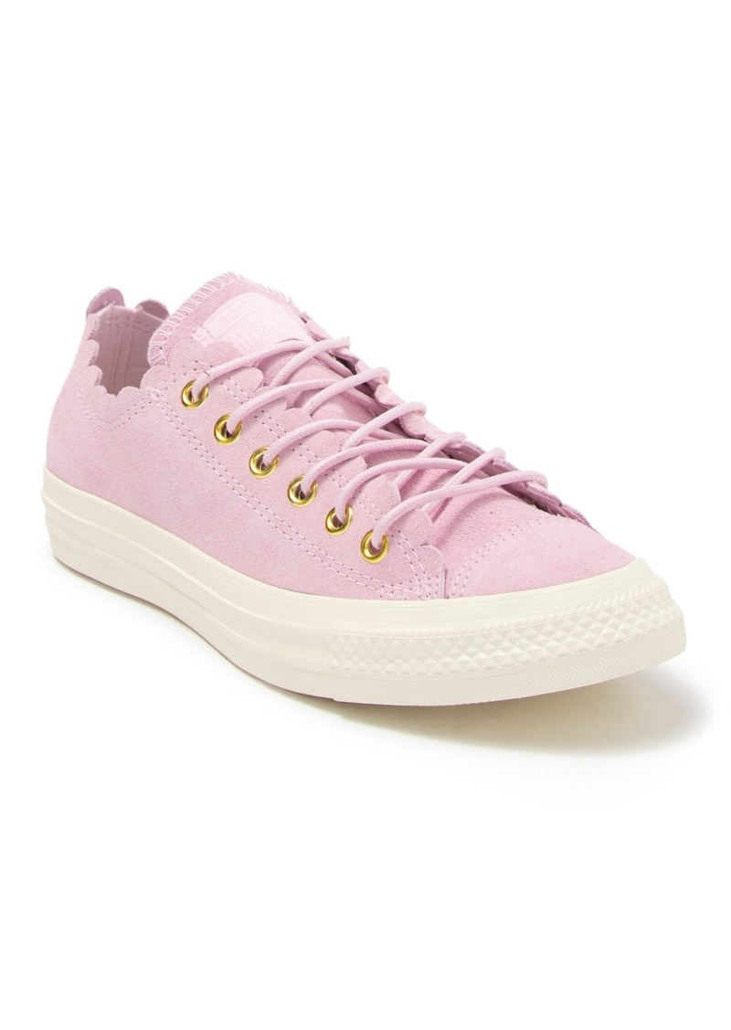 Converse Chuck Taylor All Star Frilly Thrills Low Top Sneaker (Women)