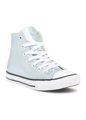 Converse Chuck Taylor All Star Metallic Glacier High Top Sneaker (Little Kid)