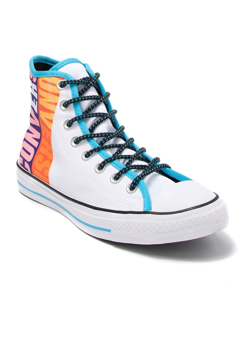 Converse Chuck Taylor All Star Printed High Top Sneaker (Unisex)