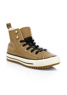 Converse Chuck Taylor All Star Street Warmer Faux Shearling High-Top Sneakers