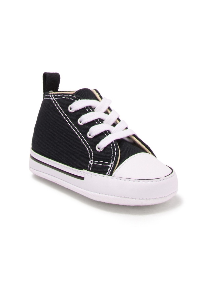 Converse Chuck Taylor First Star High Top Sneaker (Baby)