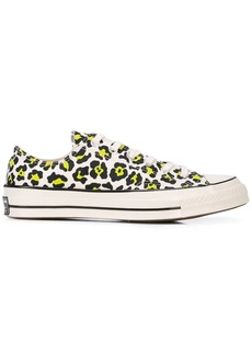 Converse Chuck Taylor leopard sneakers