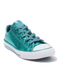 Converse Chuck Taylor(R) All-Star Metallic Glitter Sneaker (Toddler & Little Kid)