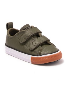 Converse Chuck Taylor(R) All Star(R) 2V Faux Leather Sneaker (Baby, Walker & Toddler)