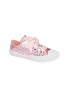 Converse Chuck Taylor(R) All Star(R) Glitter Big Eyelet Ox Sneaker (Toddler, Little Kid & Big Kid)
