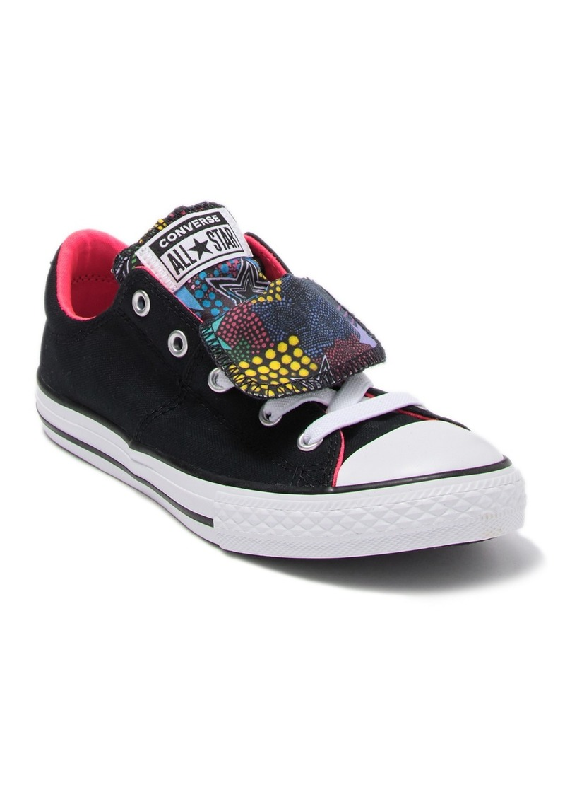 Converse Chuck Taylor(R) All Star(R) Maddie Double Tongue Sneaker (Toddler, Little Kid & Big Kid)