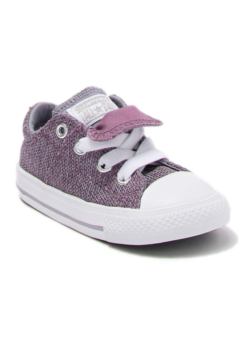Converse Chuck Taylor(R) All Star(R) Maddie Ox Violet Dust Double Tongue Sneaker (Toddler)