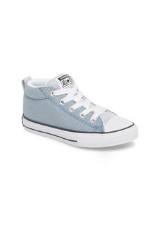 Converse Chuck Taylor All Star Woven Street Mid Sneaker (Toddler, Little Kid & Big Kid)
