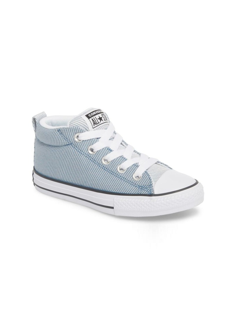 Converse Chuck Taylor(R) All Star(R) Woven Street Mid Sneaker (Toddler, Little Kid & Big Kid)