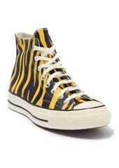 Converse Chuck Zebra Stripe Leather High Top Sneaker