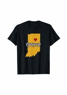 City of Converse Indiana | Hoosier Novelty Merch Gift - T-Shirt