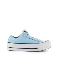 Converse All Star Chuck Taylor Ox Light Blue Platform Sneaker