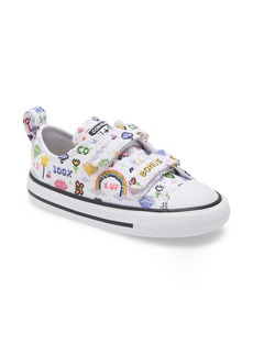 Converse All Star® Double Strap Sneaker (Baby, Walker & Toddler)