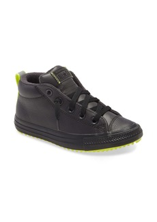 Converse All Star® Fleece Lined Mid Top Sneaker (Toddler, Little Kid & Big Kid)