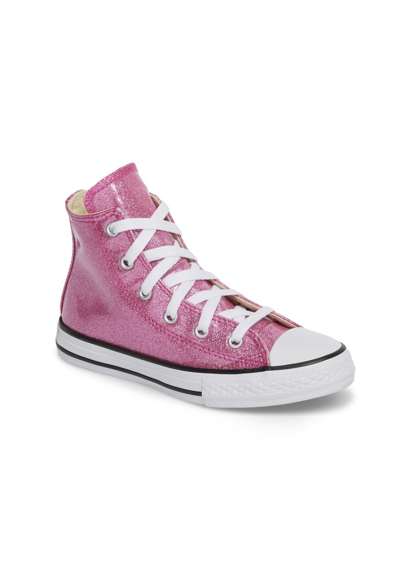 Converse Converse All Star® Glitter High Top Sneaker (Baby f2bf88f83