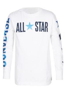 Converse All Star Long Sleeve T-Shirt (Big Boys)