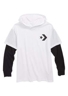 Converse All Star® Twofer Hooded Pullover (Big Boys)