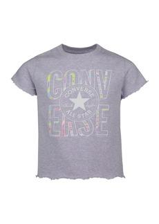 Converse Big Girls Chuck Patch Logo Baby T-shirt
