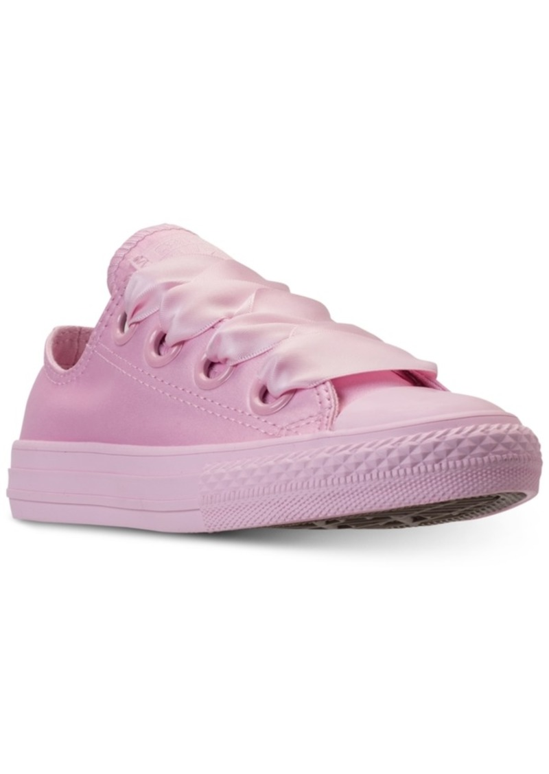 ee6f6ed1d199 Big Girls  Chuck Taylor All Star Big Eyelets Ox Casual Sneakers from Finish  Line. Converse