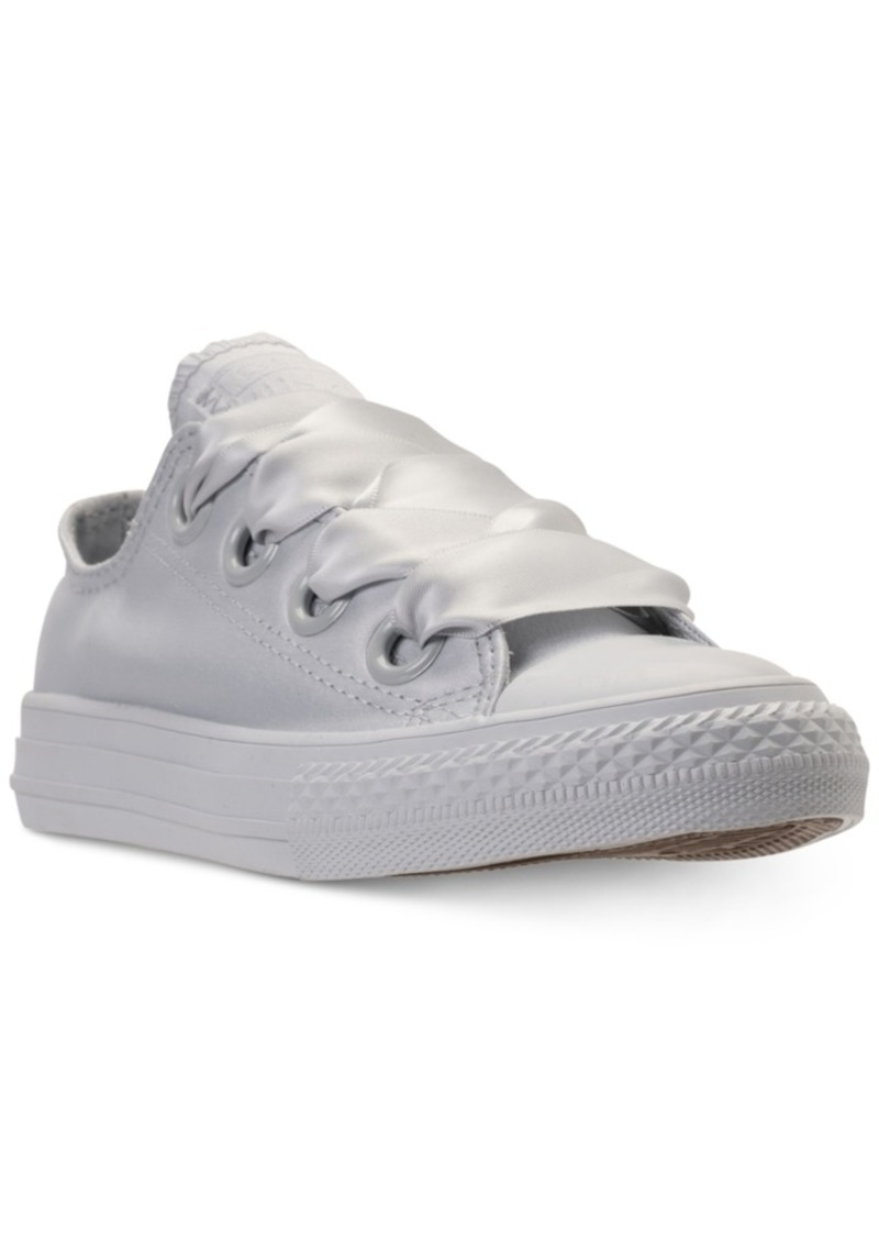 e41f18a16010 Big Girls  Chuck Taylor All Star Big Eyelets Ox Casual Sneakers from Finish  Line. Converse