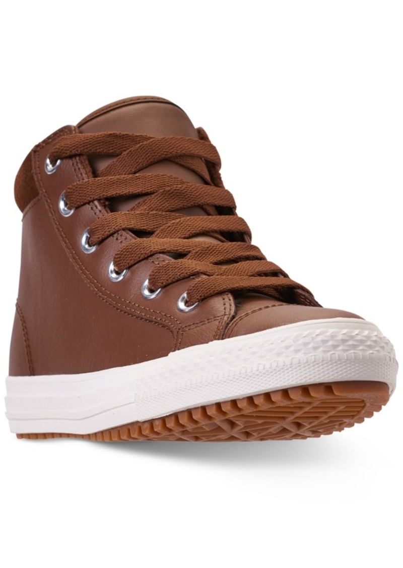 1a2faab144b2 Boys  Chuck Taylor All Star Pc Boot Casual Sneakers from Finish Line.  Converse