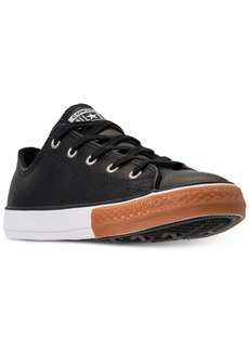 Converse Boys' Chuck Taylor Ox Gum Casual Sneakers from Finish Line