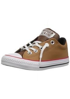 Converse Boys' CTAS Street Slip Burnt Caramel Sneaker