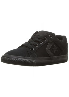 Converse Boys' El Distrito Twill Low Top Sneaker Black