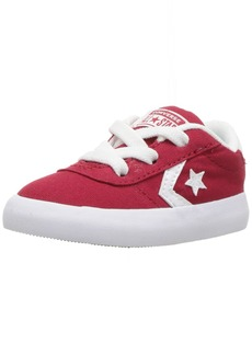 Converse Boys' Point Star Canvas Low Top Sneaker Gym red/White
