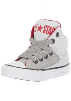 Converse Boys' Street Heather Canvas High Top Sneaker