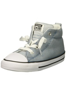 Converse Boys' Street Woven Canvas Mid Top Sneaker