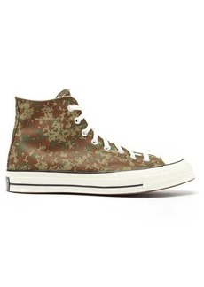 Converse Chuck 70 camouflage-print canvas trainers